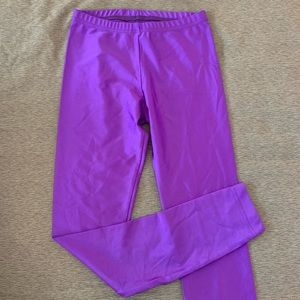 Purple American Apparel Leggings- Size M